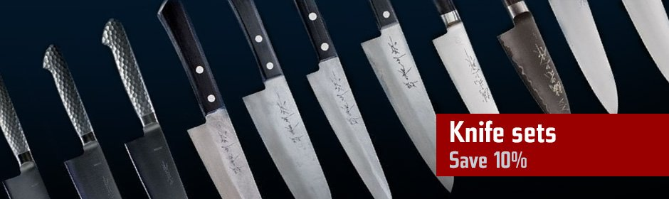 Save 10 percent on knife sets